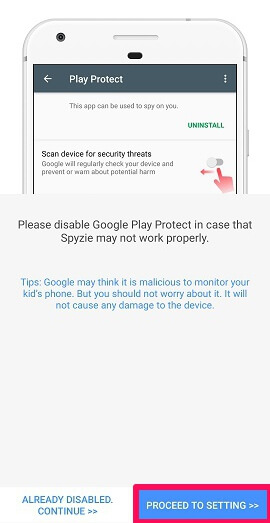 disable play protect
