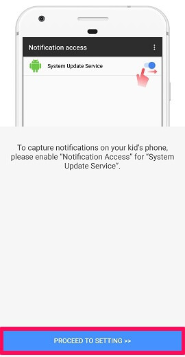 enable notification access