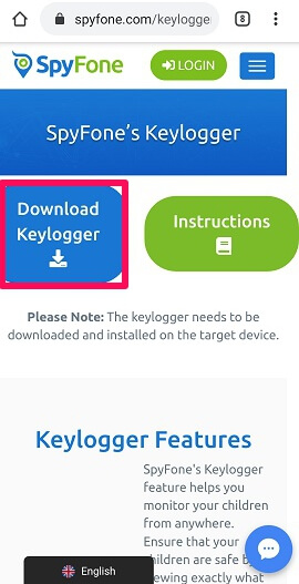 download keylogger from official site