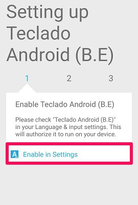 enable techlado android settings