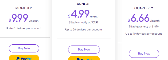 famisafe pricing