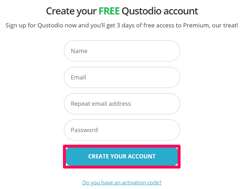 give your details to qustodio