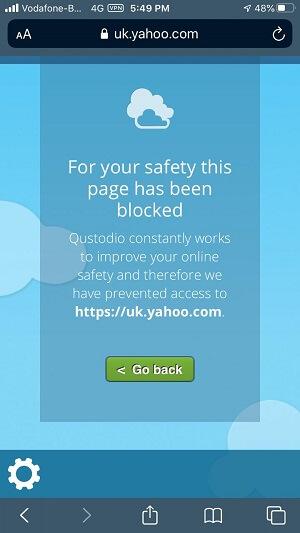 Browser Blocked