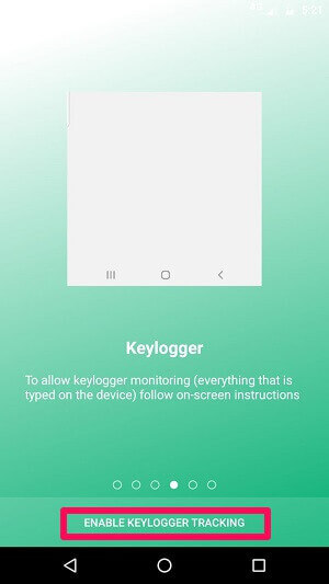 Enabling KeyLogger Tracking On uMobix Android App