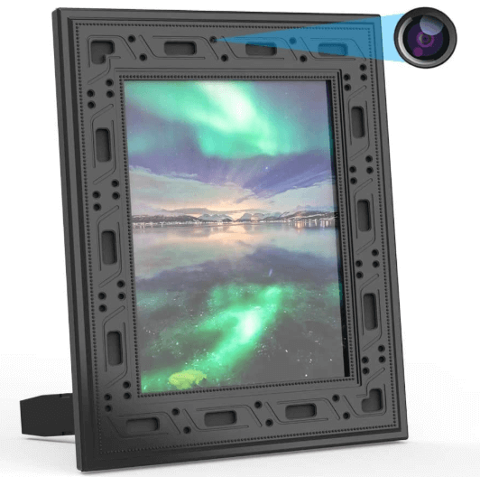fuvision hidden photo frame camera