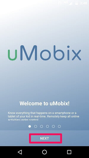 uMobix Installation On Android