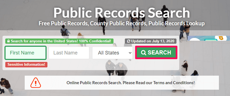 using public records for birthday lookup
