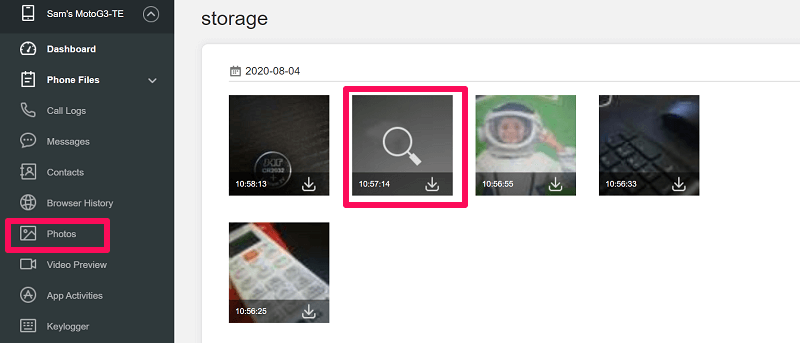 Accessing Spouse Photos On Android