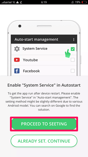 enable system services on auto start