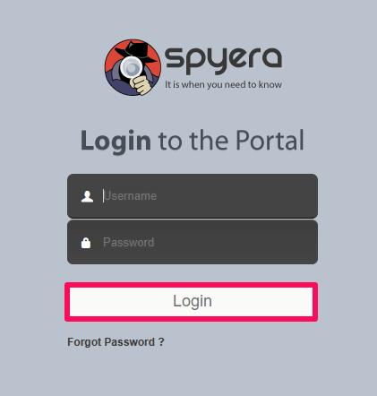 spyera portal login