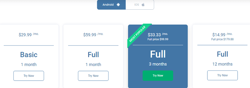 umobix pricing