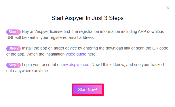 start with aispyer