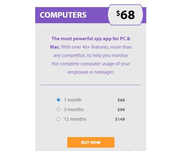 flexispy pricing