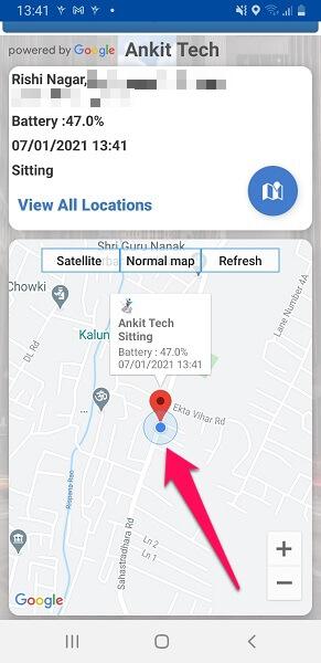 location with onelocator