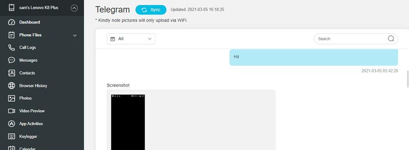 spy on Telegram secret chat