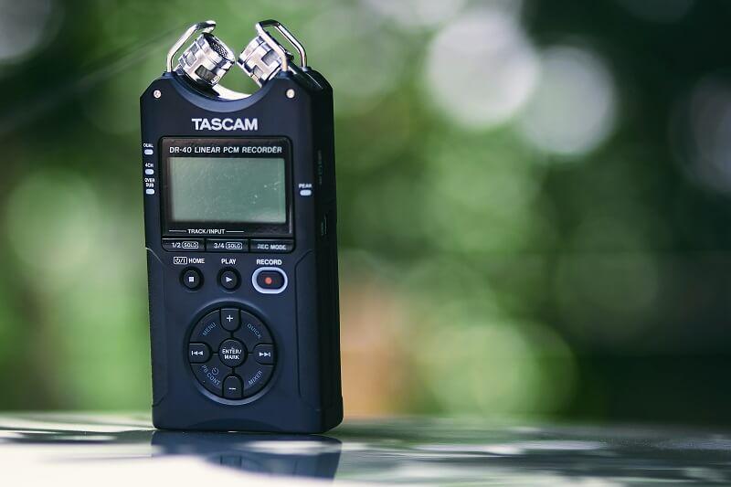 voice recording of car