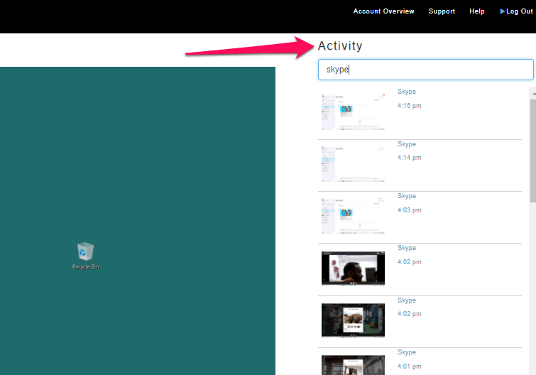 activity feature