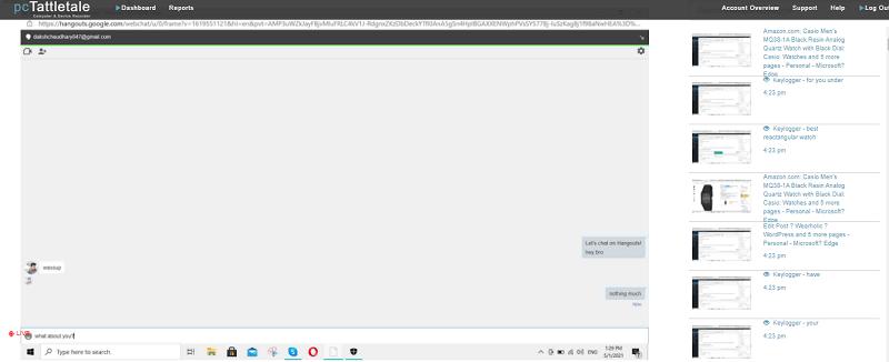 hangouts chats on pc