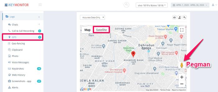 ikeymonitor location tracking