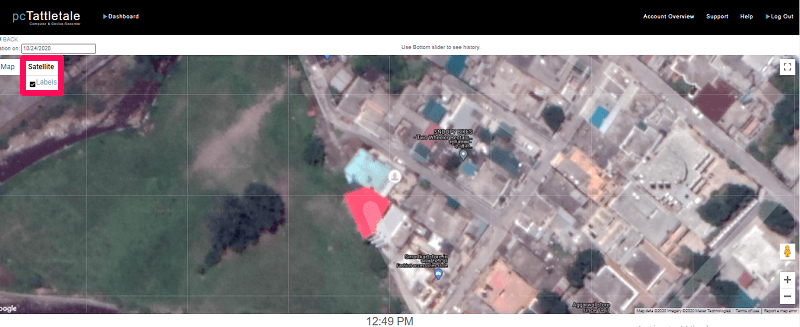 pctattletale location satellite mode