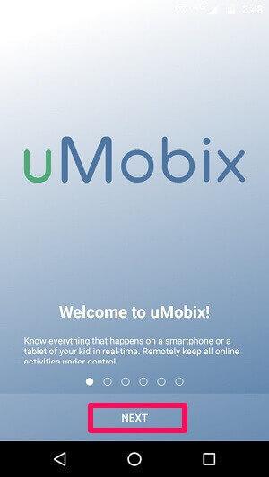 starting with umobix installation