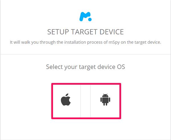 mspy device selection