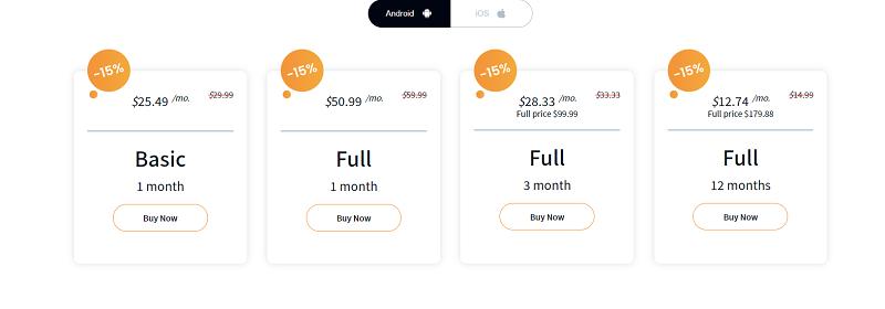 spybubblepro pricing